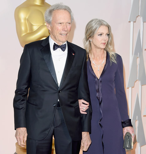 Clint Eastwood and Christina Sandera 1
