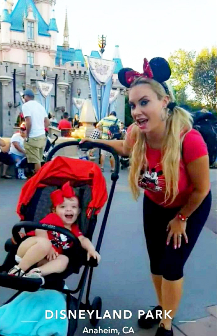 Coco Austin and Chanel Disneyland