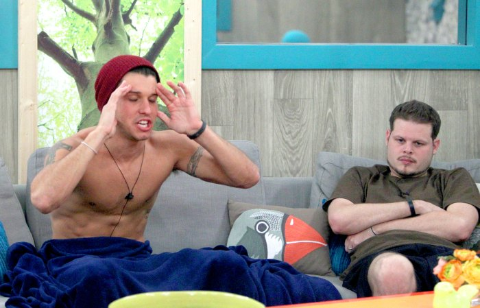 Cody and Derrick on Big Brother.