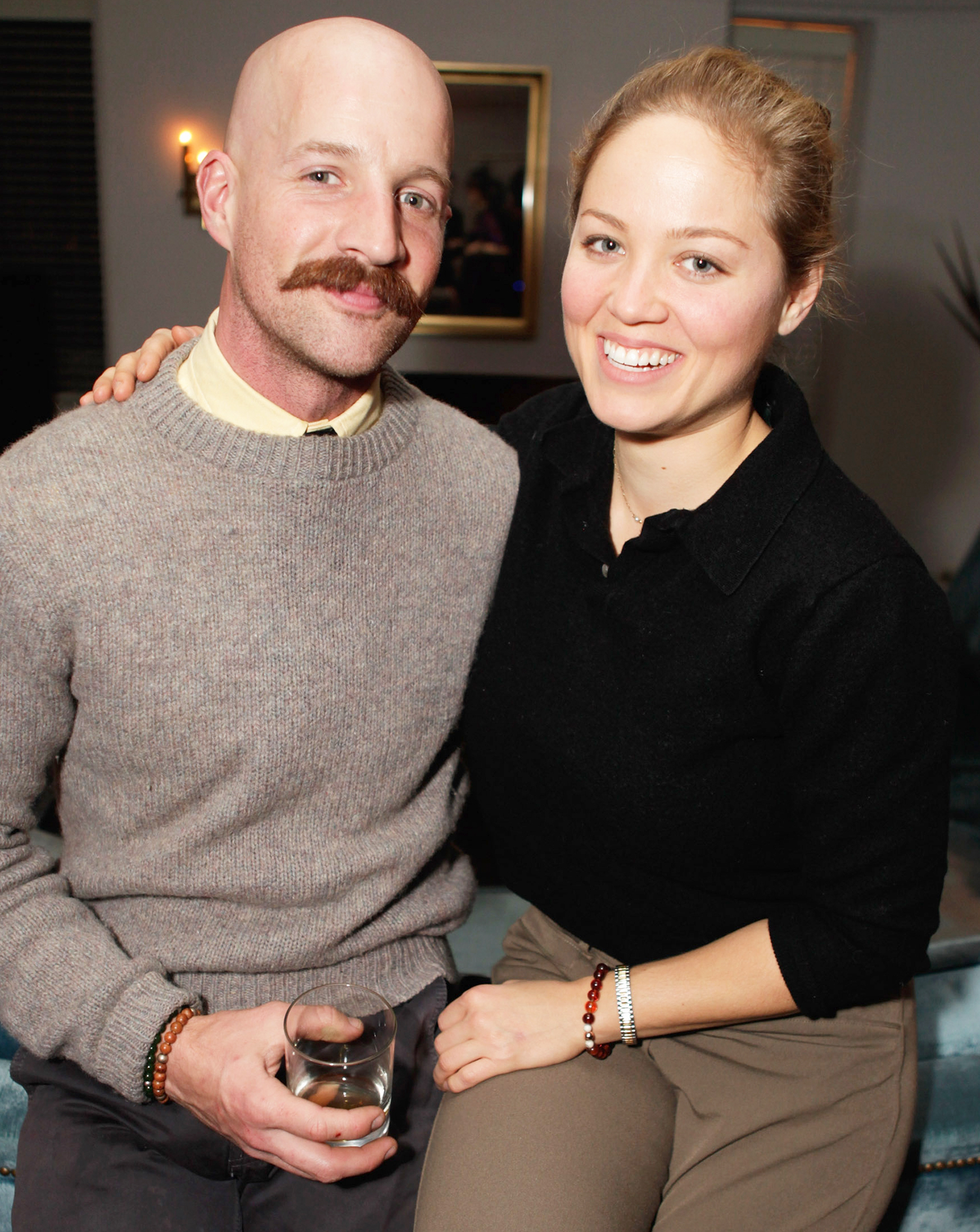 Erika Christensen and Cole Maness
