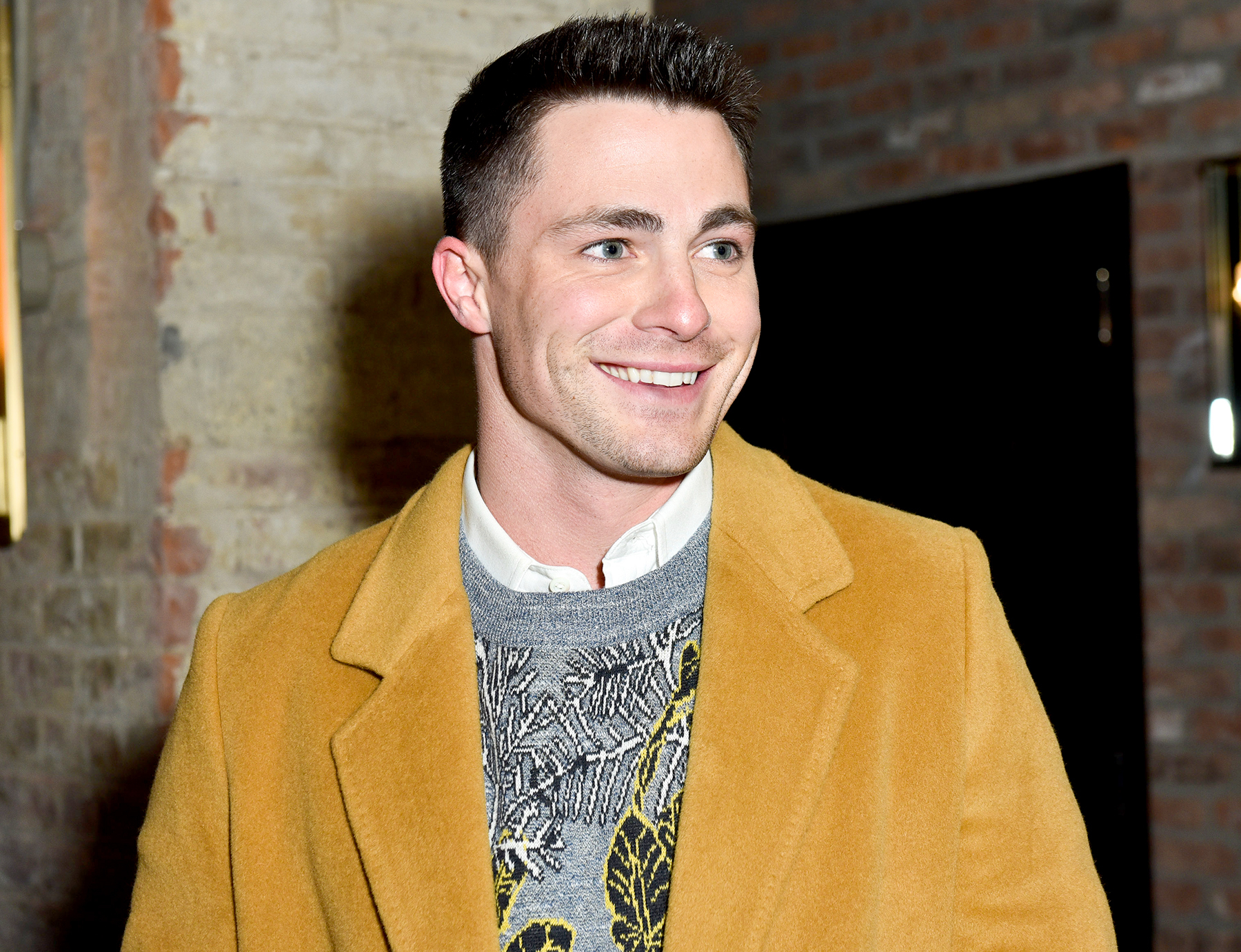 Colton Haynes attends Billy Reid - Front Row - NYFW: Men's at The Cellar at The Beekman on January 30, 2017 in New York City.