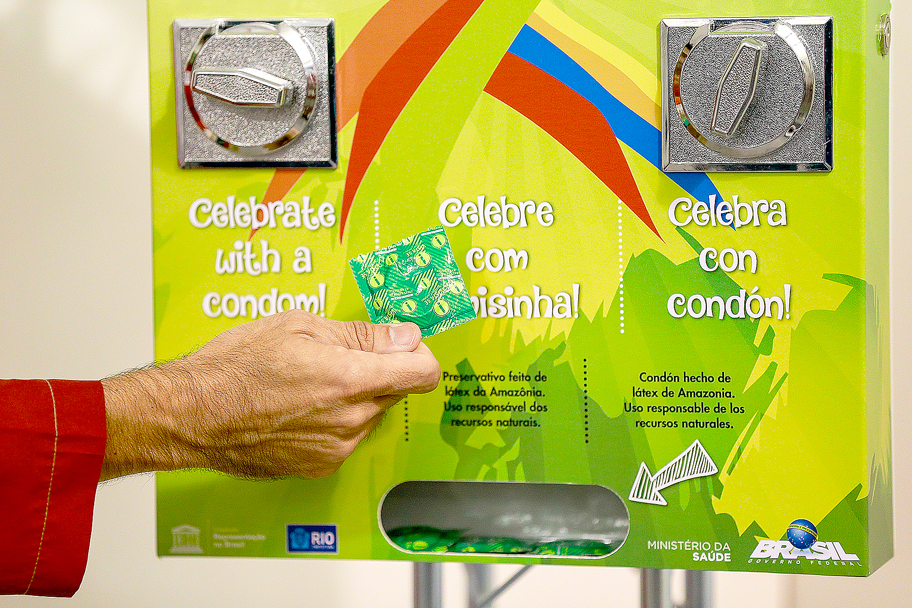 What Olympians Really Do With Those 450,000 Condoms