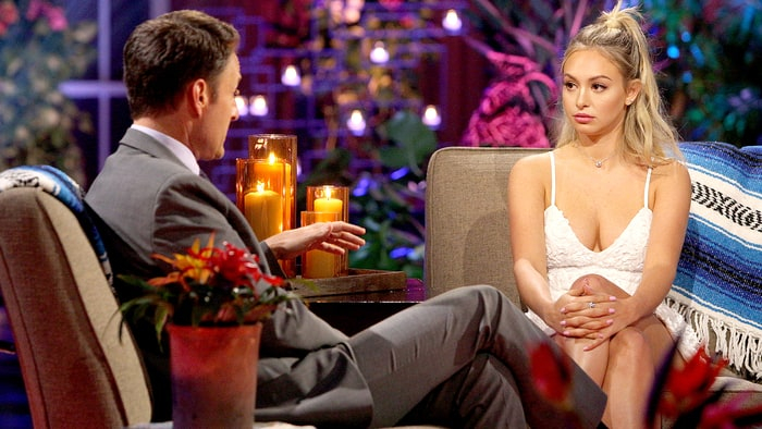 Chris Harrison and Corinne on Bachelor in Paradise