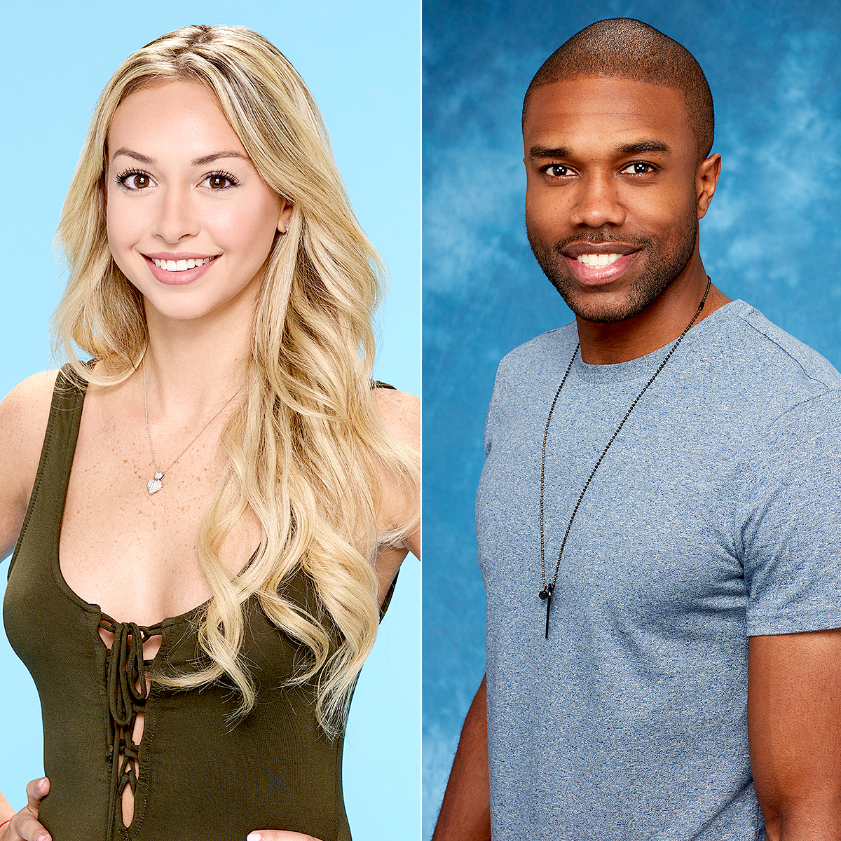 Corinne Olympios and DeMario Jackson