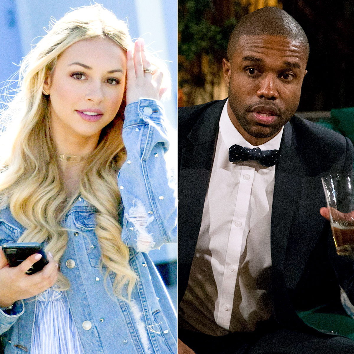 Corinne Olympios and DeMario