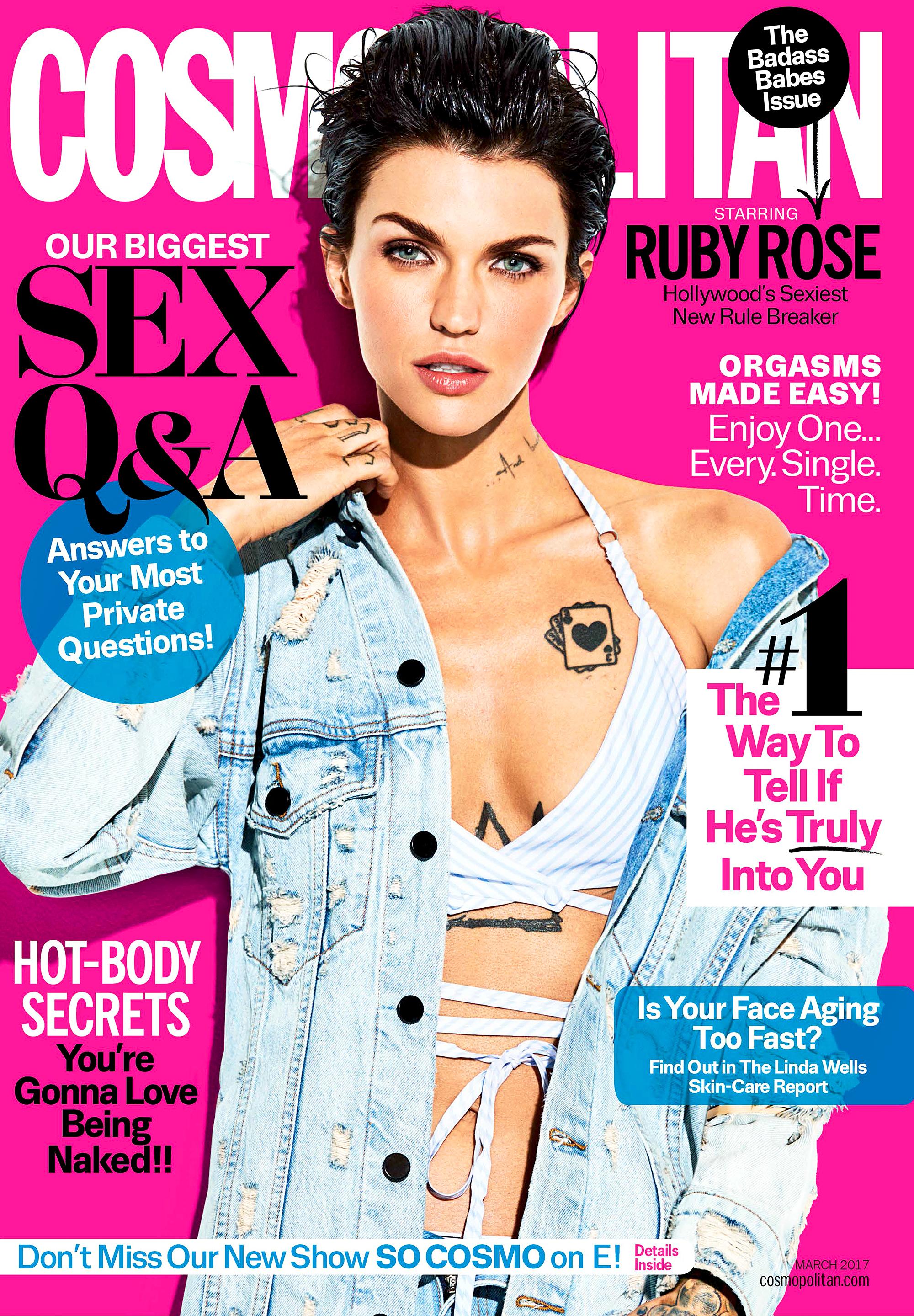 Ruby Rose Cosmopolitan