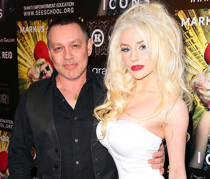 Doug Hutchinson and Courtney Stodden arrive at Markus + Indrani Icons book launch party on January 10, 2013 in Los Angeles, California.