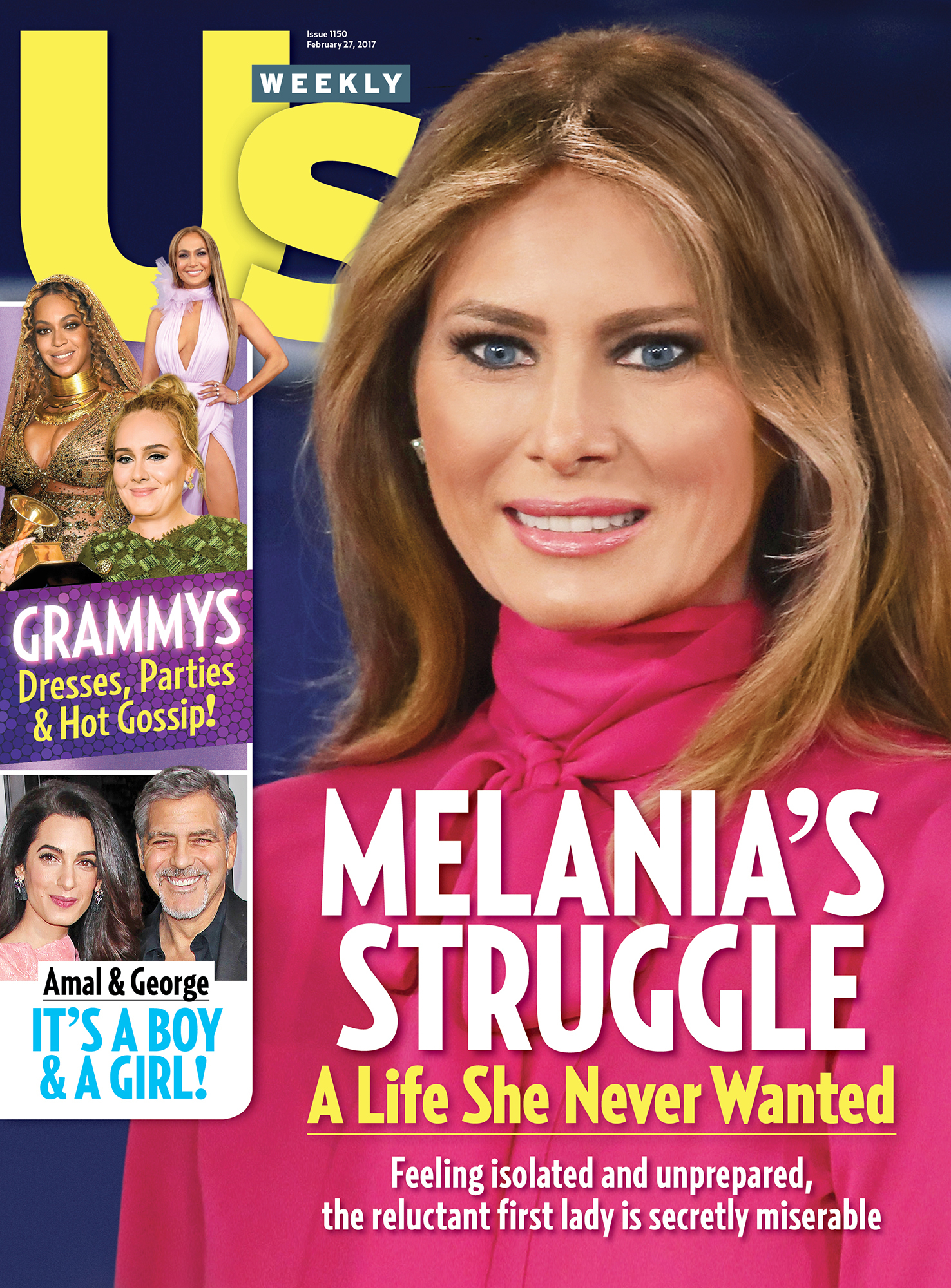 Melania Trump Is 'Miserable' as First Lady