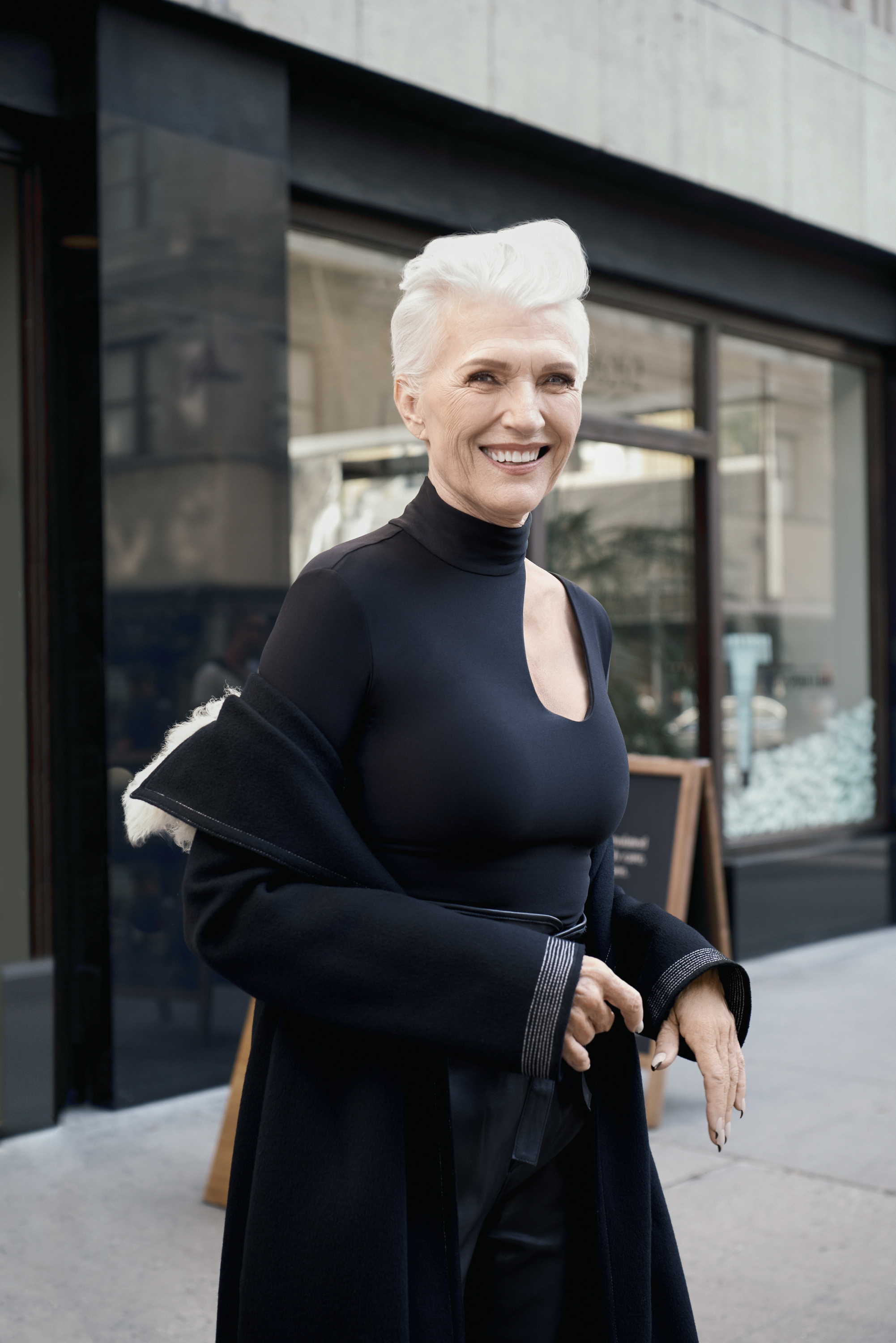 Maye Musk Is The Newest Covergirl Spokesmodel At Age 69