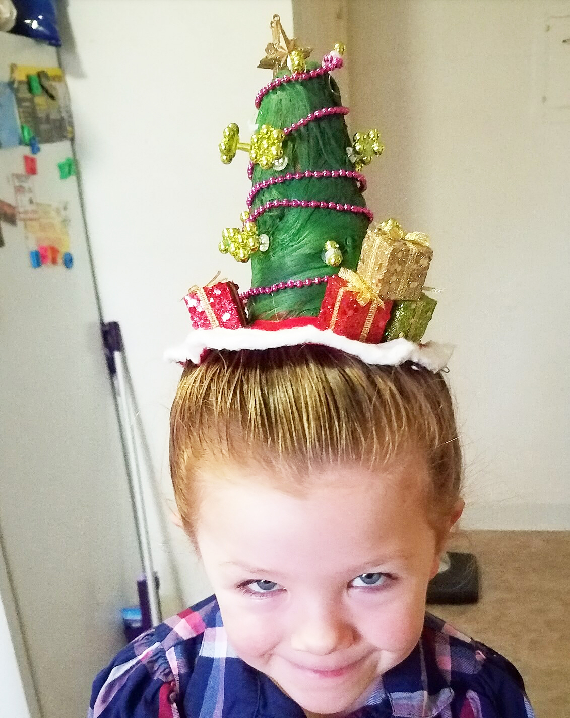 Greg Wickherst Izzy Christmas hairstyles