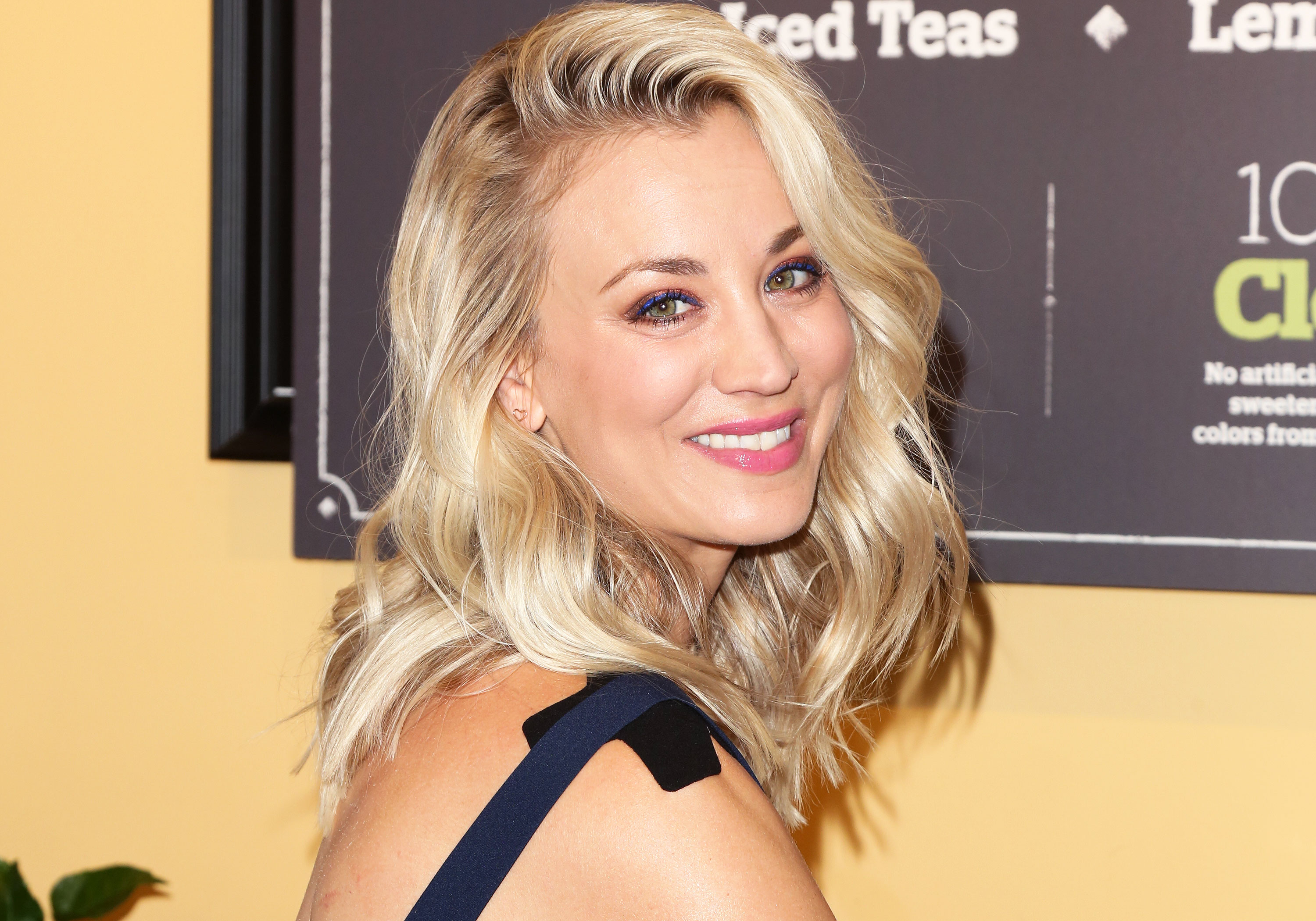 Kaley Cuoco Talks Changing Up Her Hair It Might Be Blue