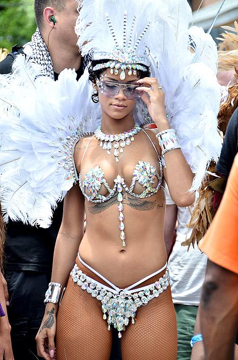 rihanna carnival costume