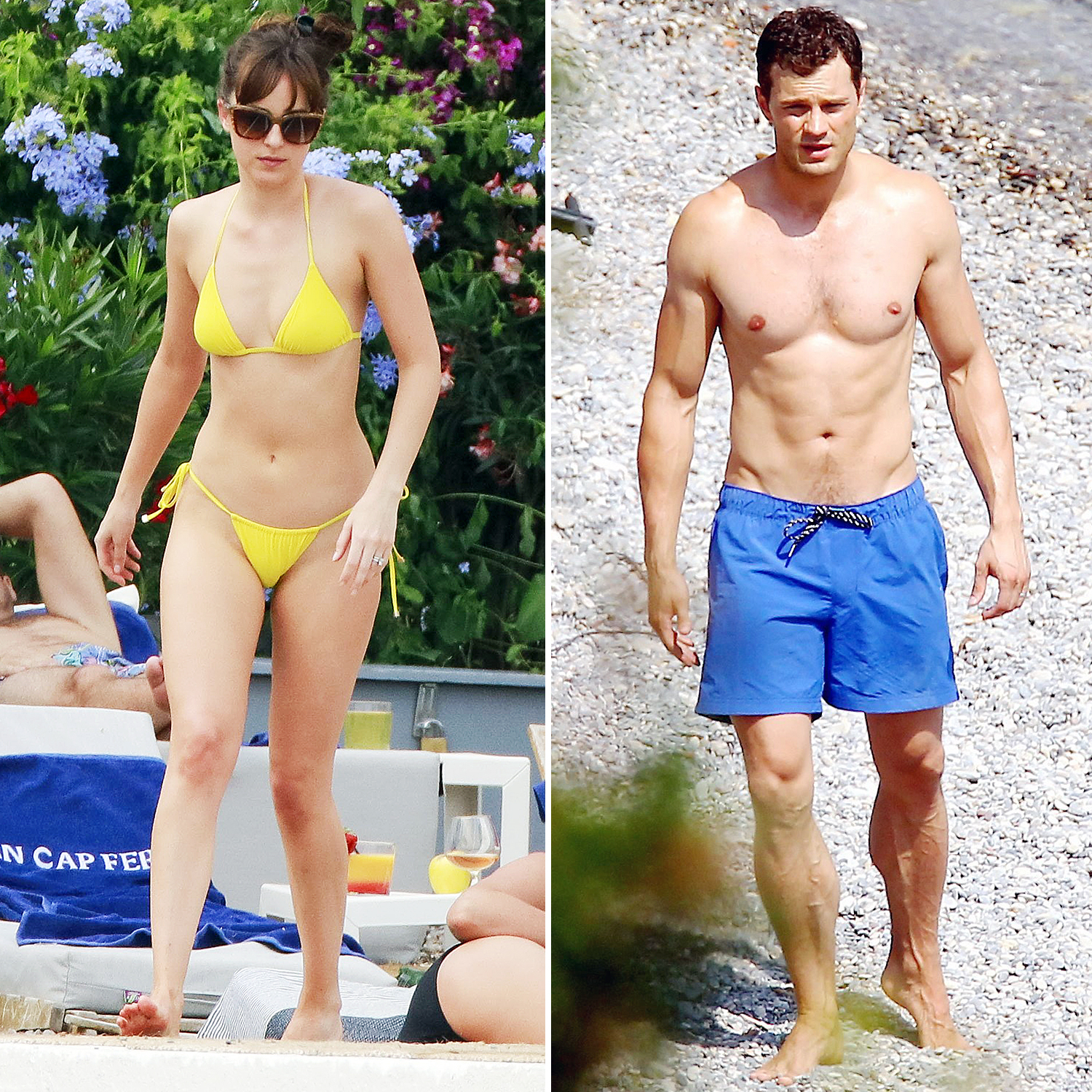 Dakota Johnson Jamie Dornan Fifty Shades Freed