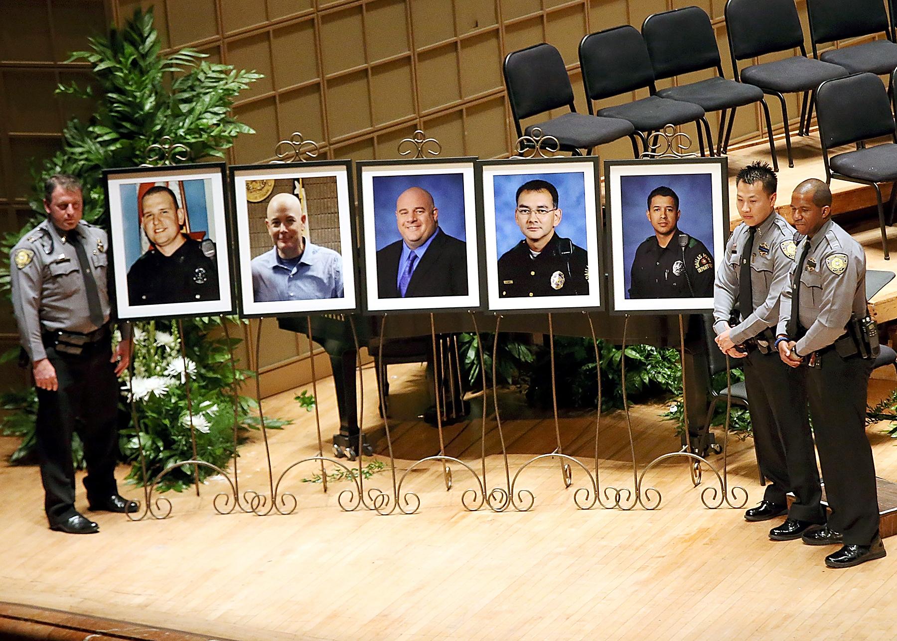 Dallas shooting memorial