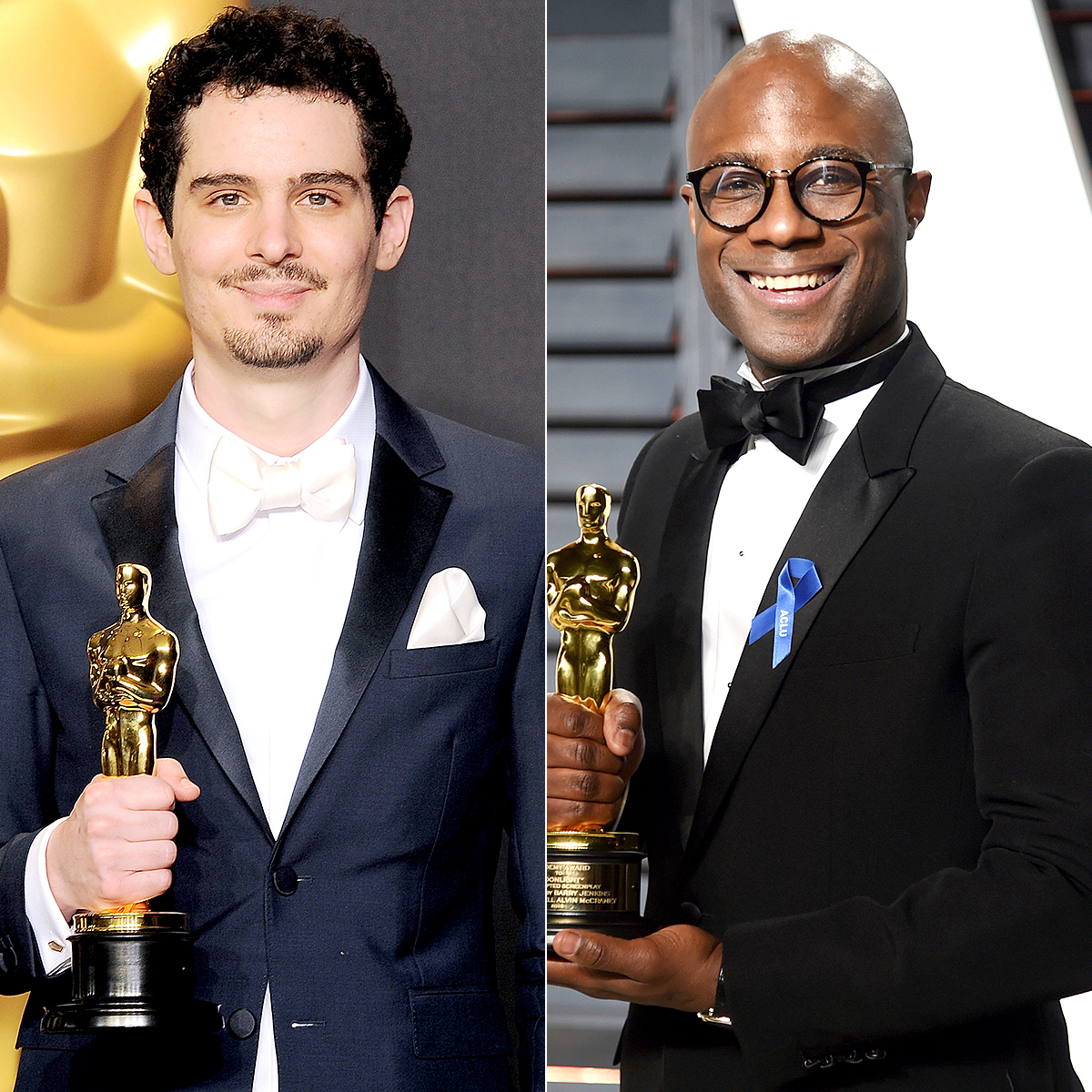 Damien Chazelle and Barry Jenkins