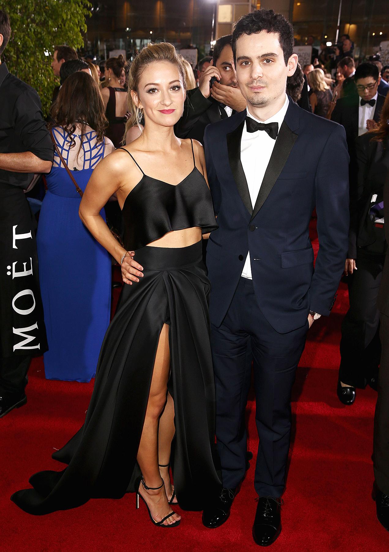 Olivia Hamilton Damien Chazelle Golden Globes