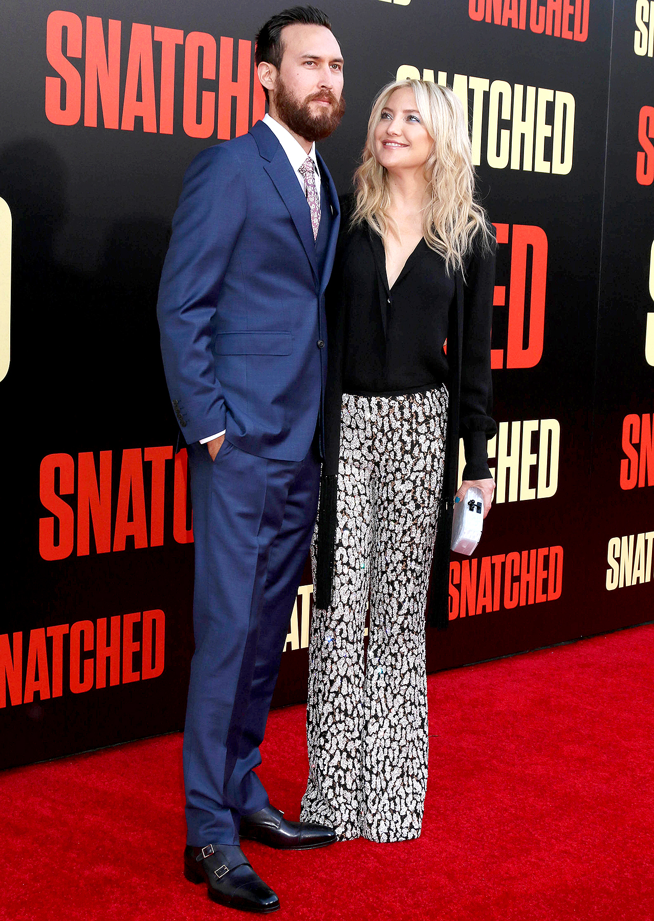 Danny Fujikawa and Kate Hudson