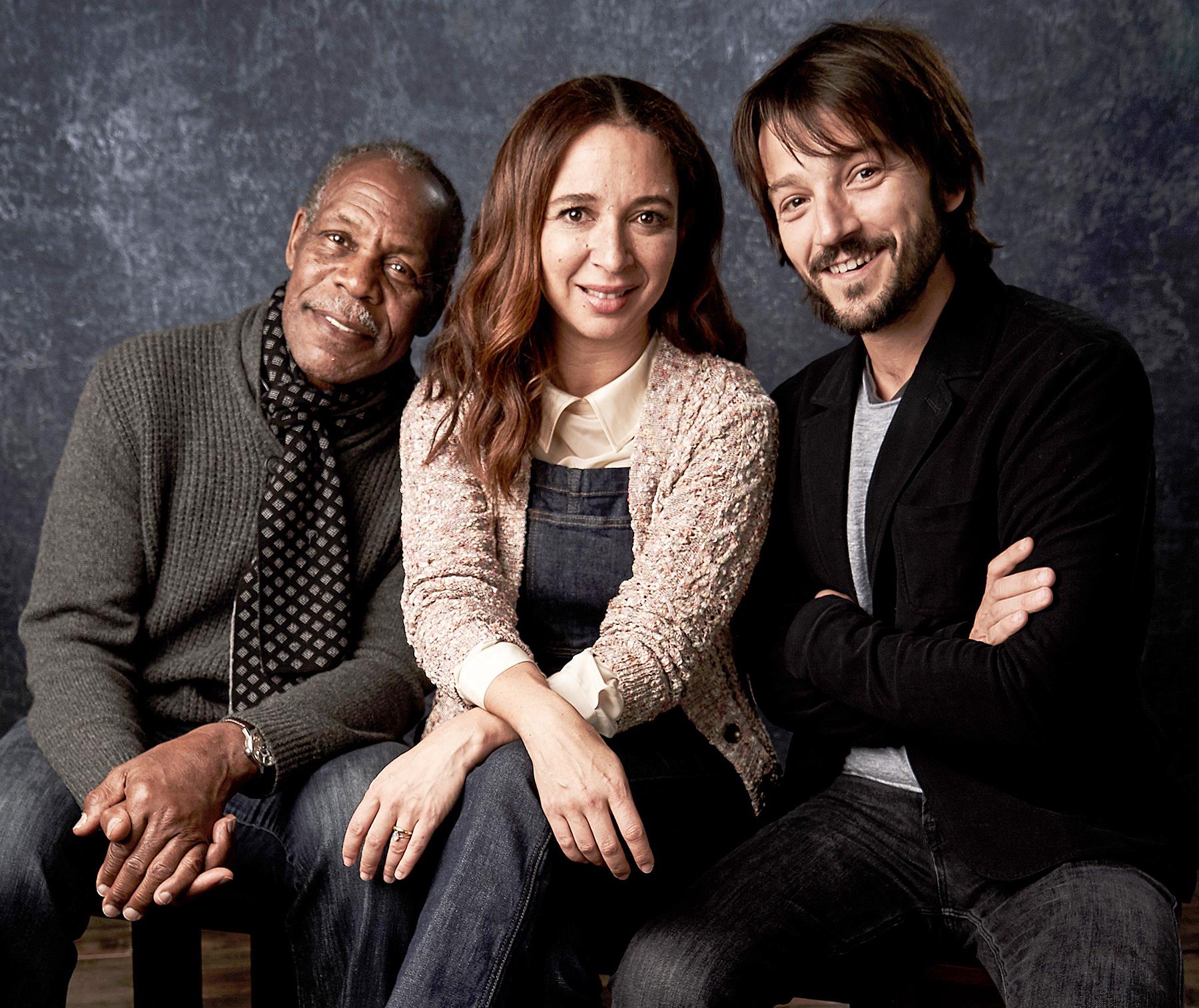 Danny Glover, Maya Rudolph, and Diego Luna