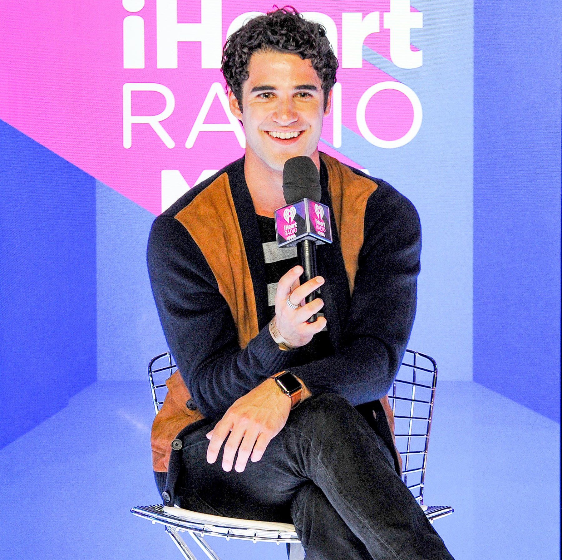 Darren Criss attends the 2017 iHeartRadio MuchMusic Video Awards - Press Room on June 18, 2017 in Toronto, Canada.
