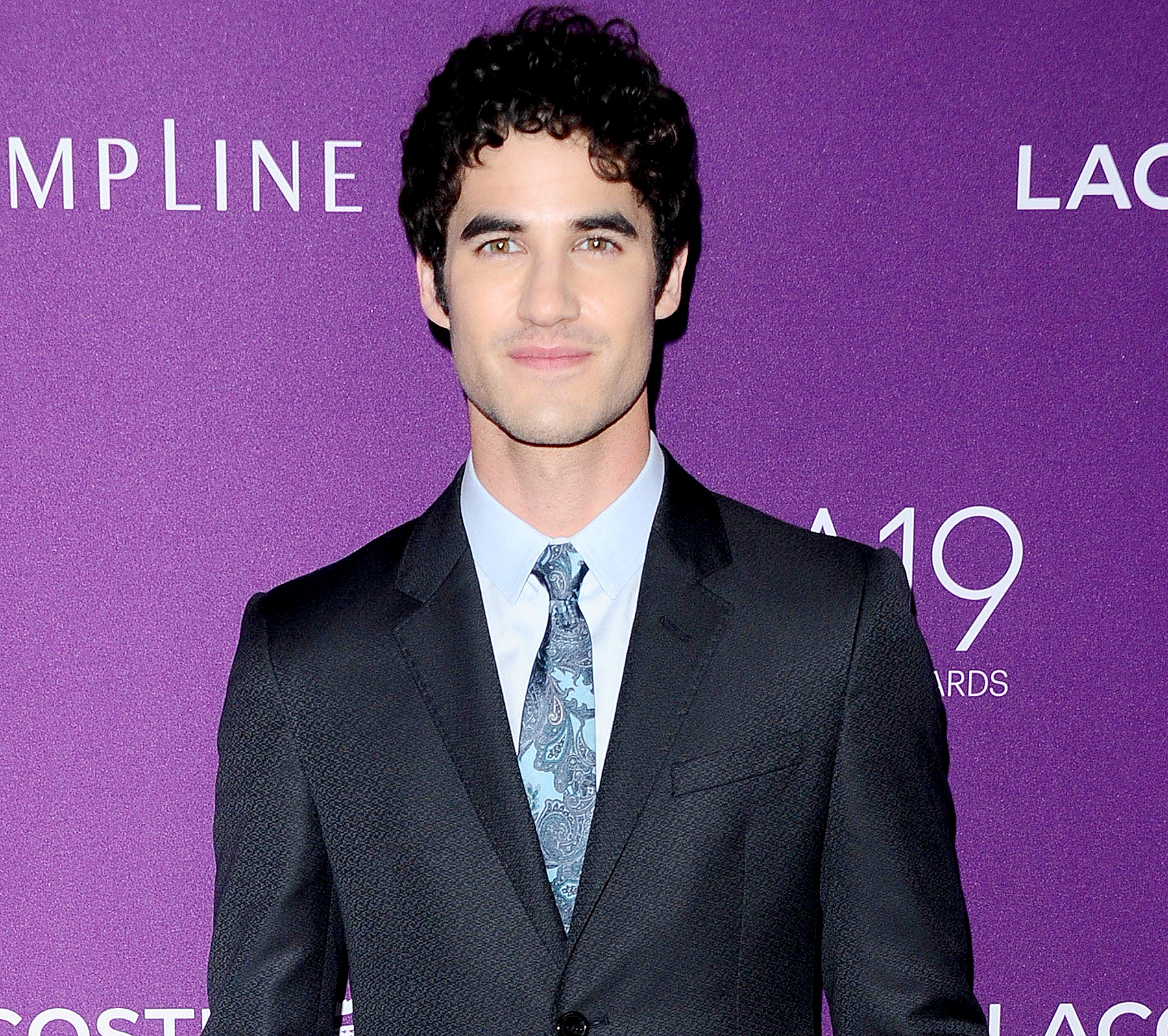 Darren Criss attends the 19th Costume Designers Guild Awards CDGA on Februrary 21, 2017.