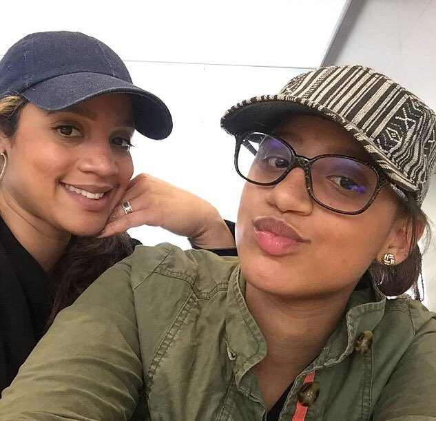 Dascha Polanco and Dasany Carter