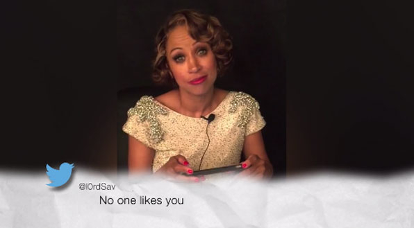 Stacey Dash reads her post-Oscars 2016 mean tweets