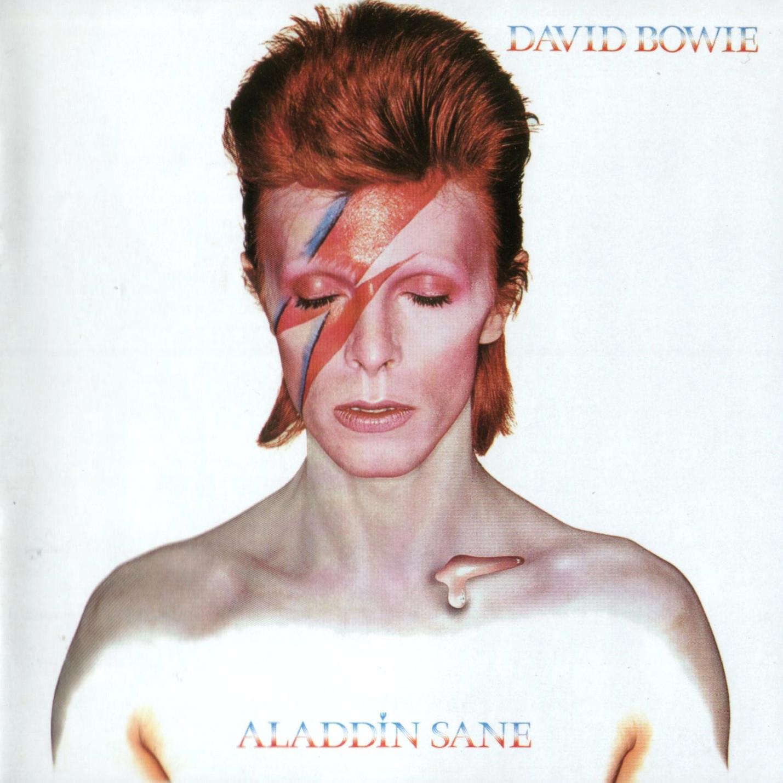 David Bowie's iconic Aladdin Sane album cover