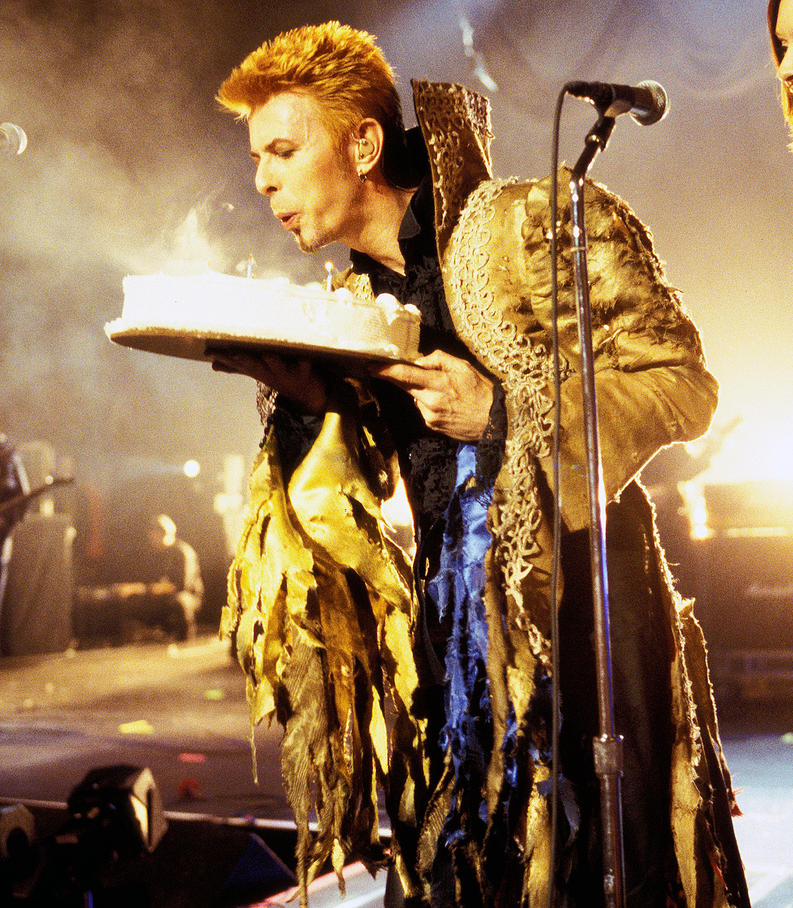 David Bowie's 50th Birthday Celebration Concert at Madison Square Garden in New York City