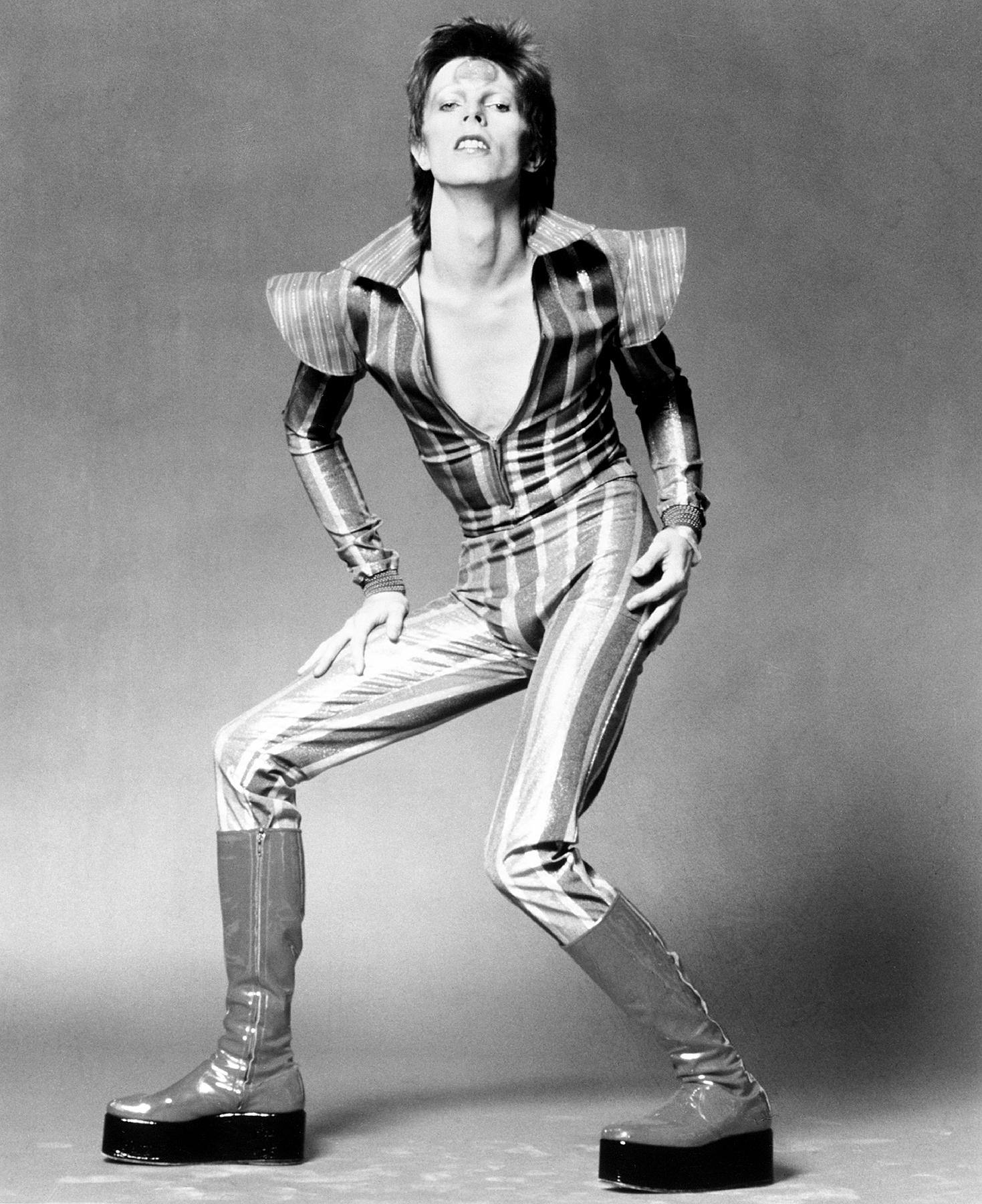 David Bowie as Ziggy Stardust in 1972