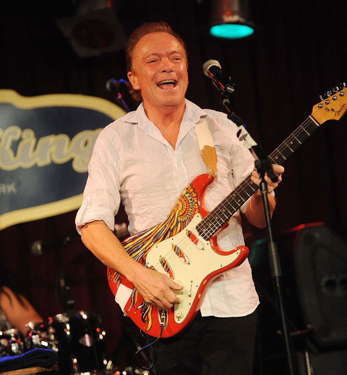 David Cassidy performs at BB King on January 10, 2015 in New York City