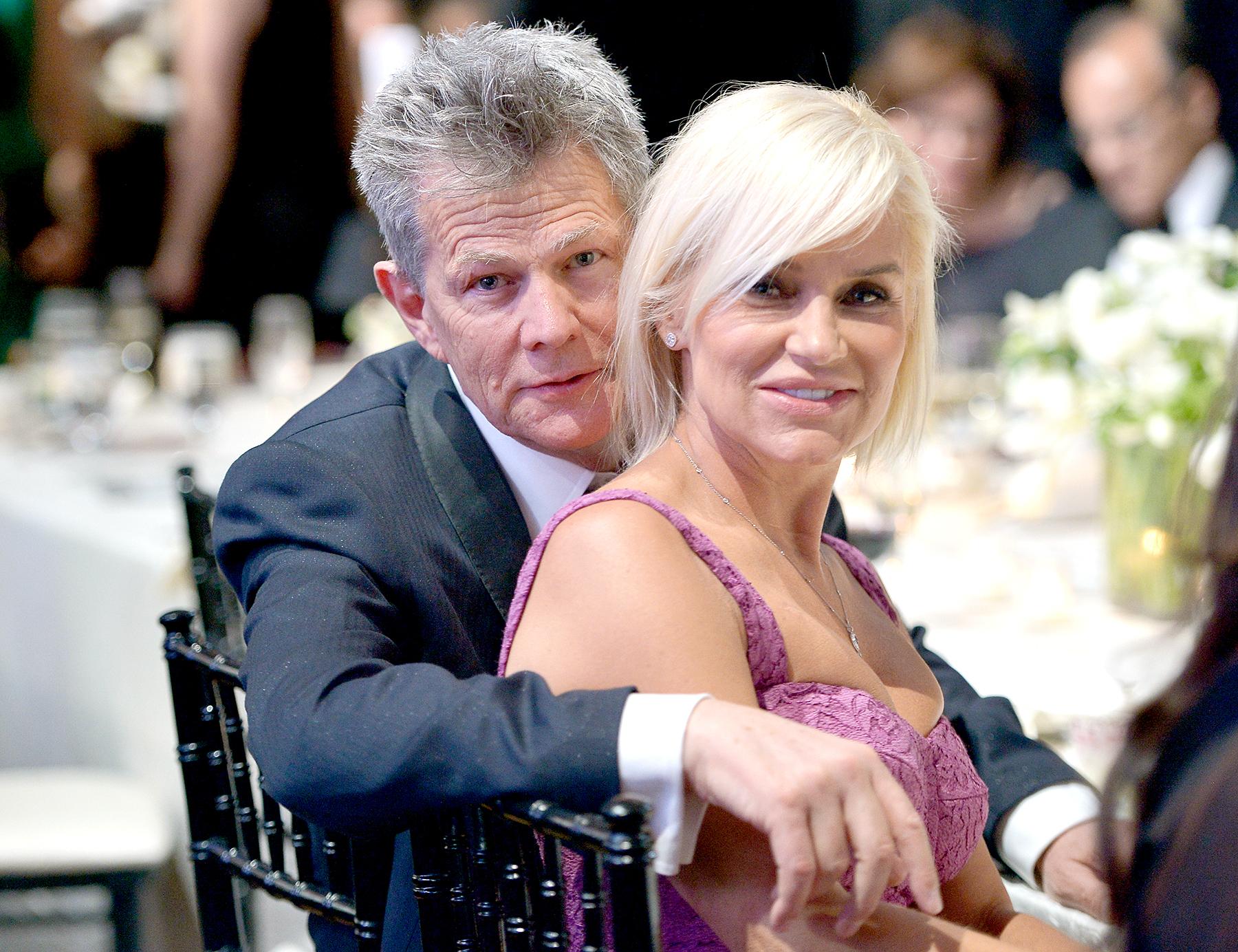 David Foster and Yolanda Foster attend Muhammad Ali's Celebrity Fight Night XX in 2014.