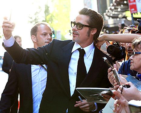 Brad Pitt - unbroken