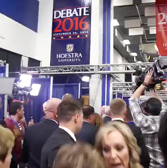 Thanks A Lot Bitch viral debate reporter Al Jazeera Kimberly Halkett