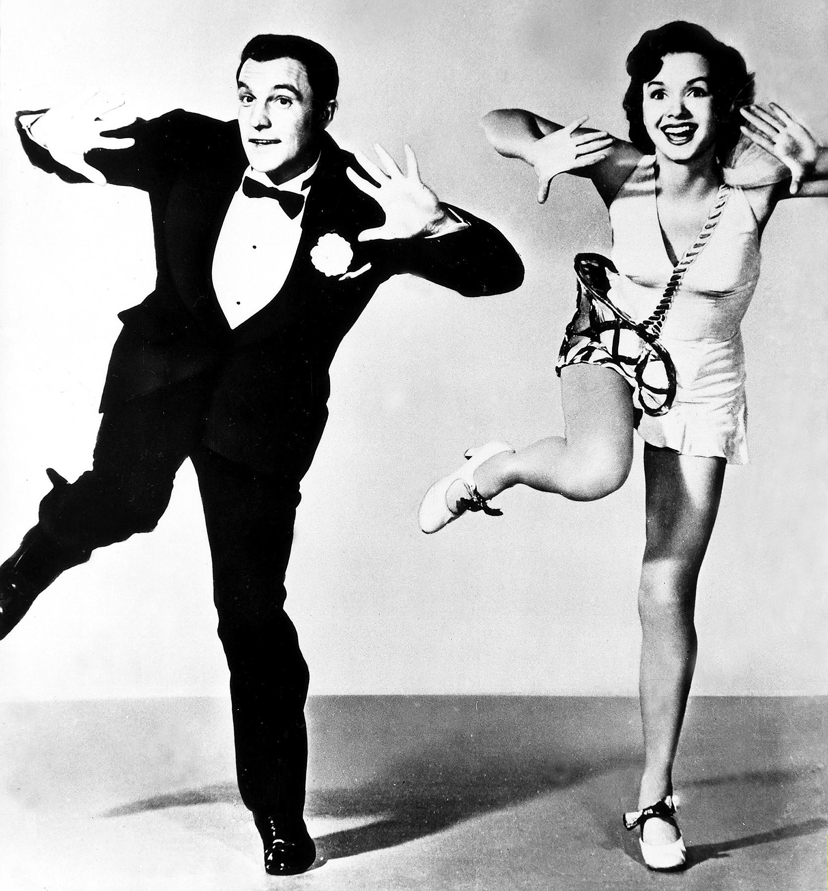 Gene Kelly and Debbie Reynolds in 'Singin' in the Rain.'