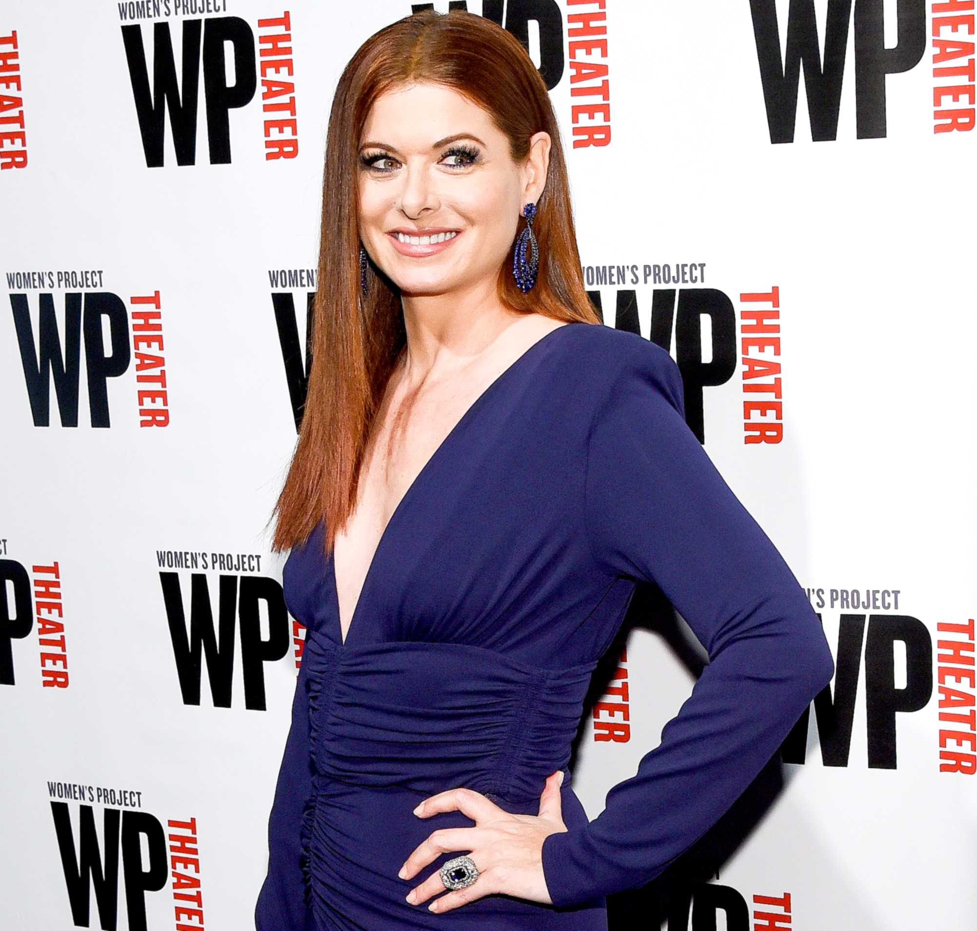 Debra Messing attends the 32nd Annual WP Theater's Women of Achievement Awards Gala at The Edison Ballroom on March 27, 2017 in New York City.
