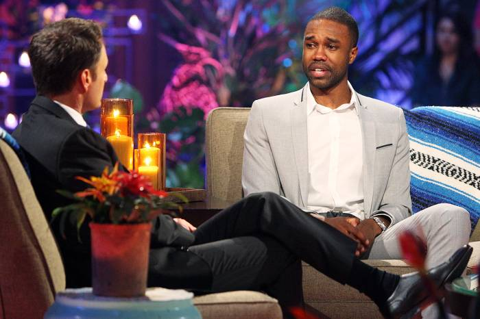 Chris Harrison DeMario Jackson Bachelor in Paradise