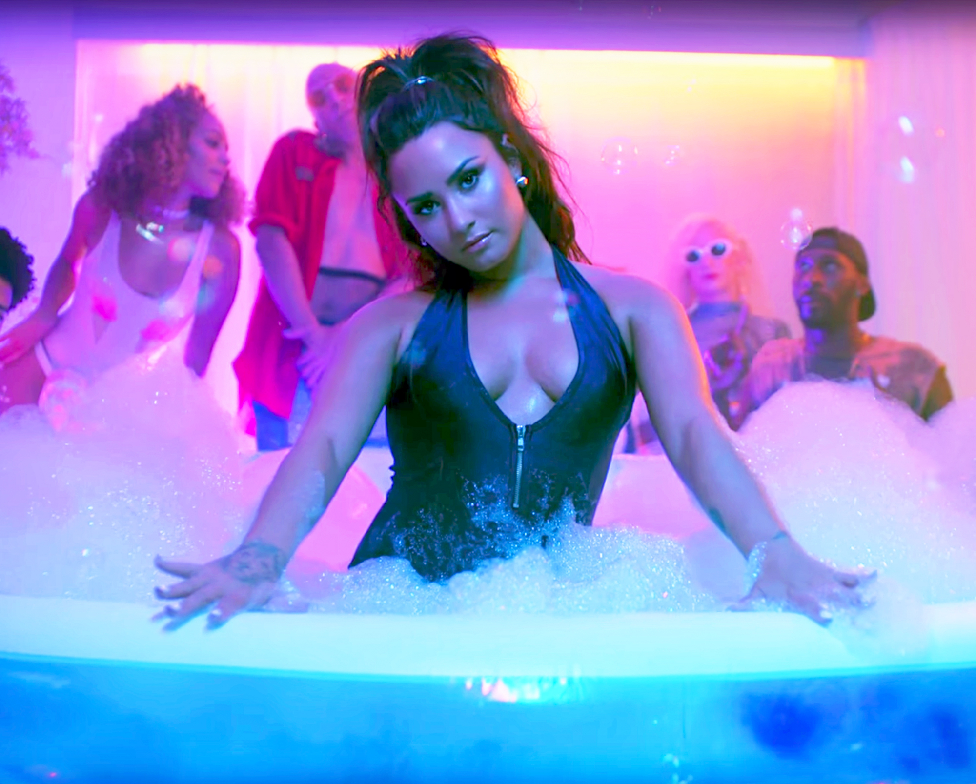 Demi Lovato In Sorry Not Sorry