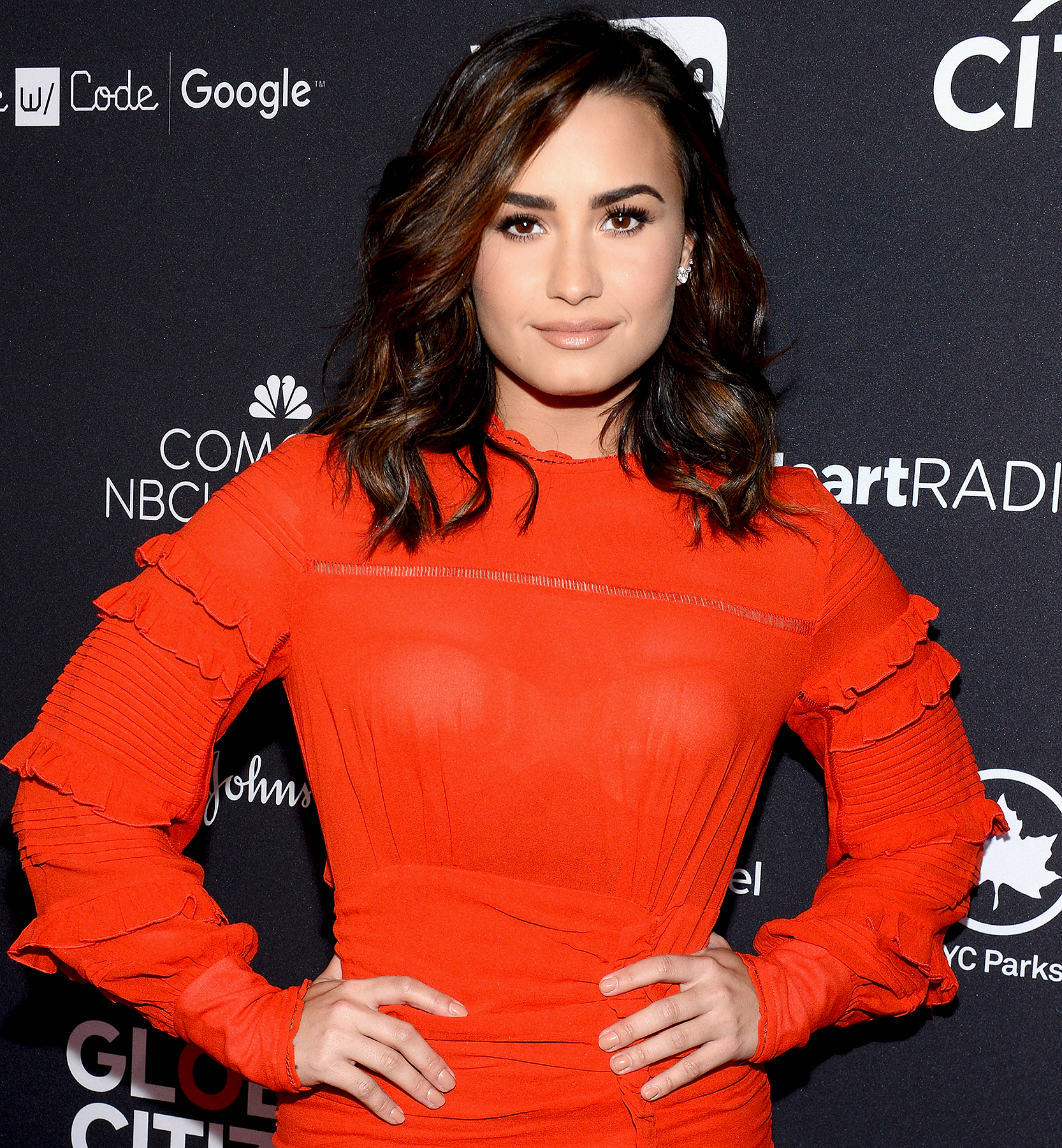 Demi Lovato attends the 2016 Global Citizen Festival In Central Park To End Extreme Poverty By 2030 at Central Park on September 24, 2016.
