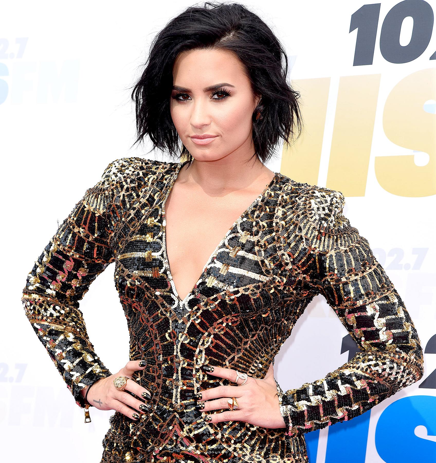 Demi Lovato attends 102.7 KIIS FM's Wango Tango 2016.