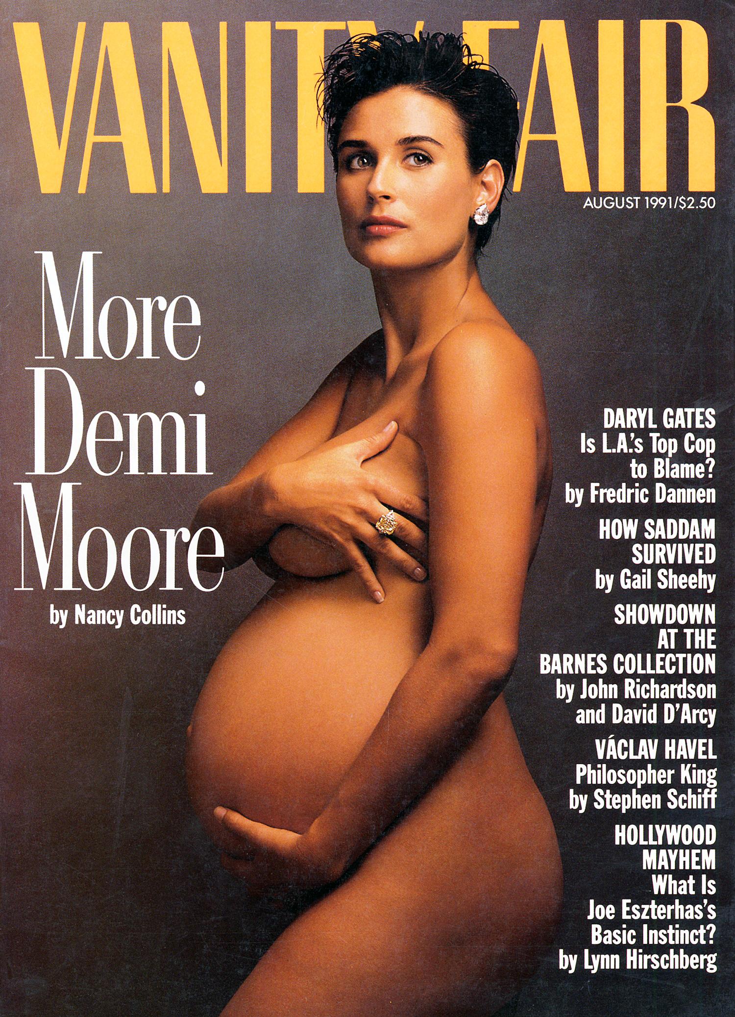Demi Moore Vanity Fair cover 1991
