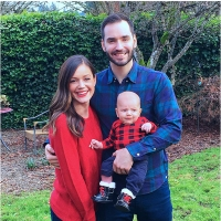 Desiree and Chris Siegfried Bachelorette baby
