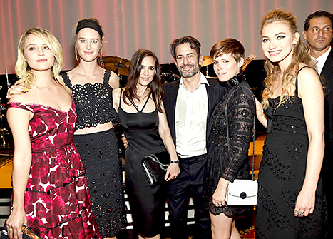 Dianna Agron, Winona Ryder, Marc Jacobs, Kate Mara and Imogen Poots