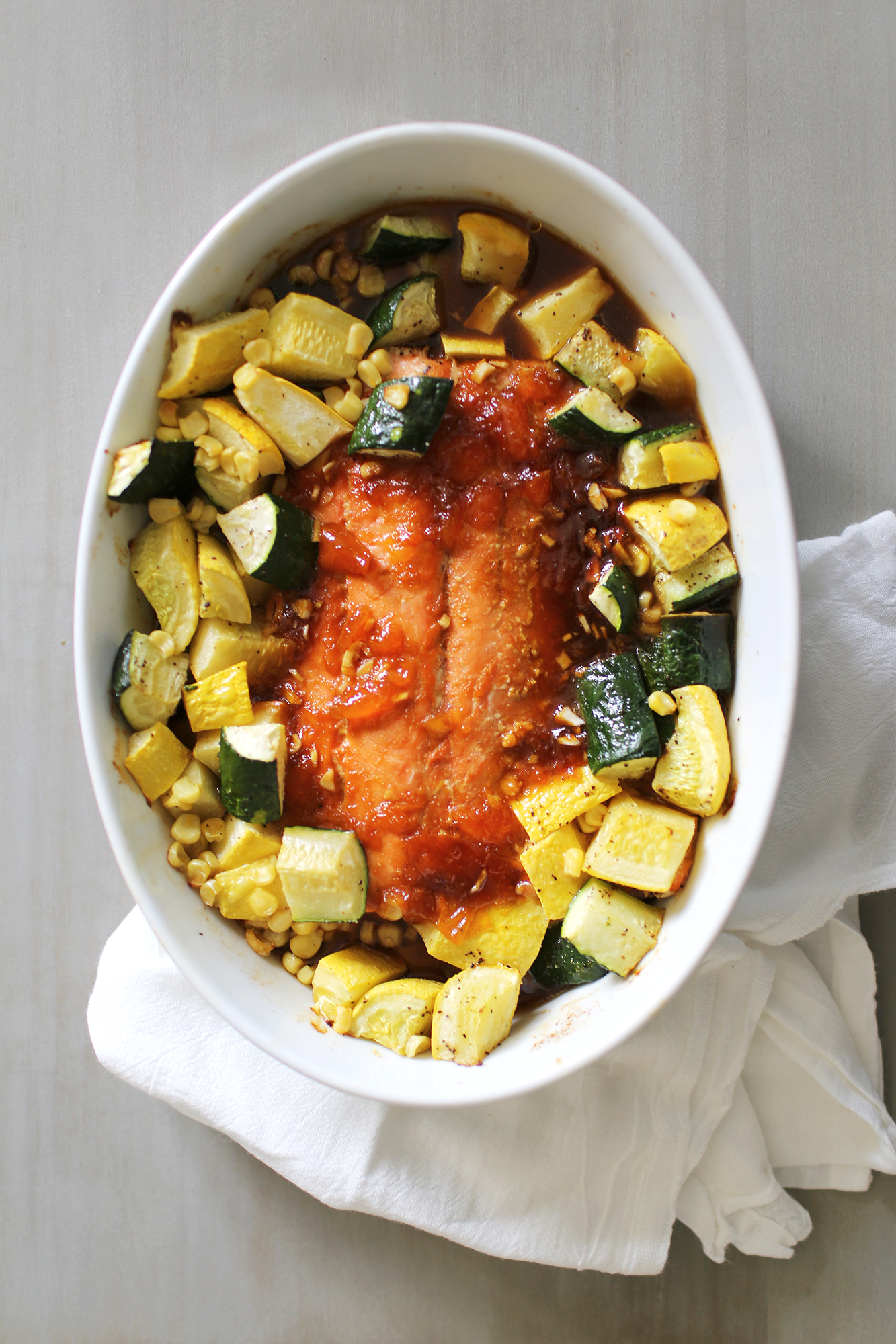 7bf42cccdf02 Ayesha Curry Shares Easy Apricot-Glazed Salmon Recipe