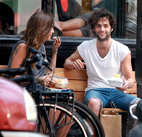 Domino and Penn Badgley