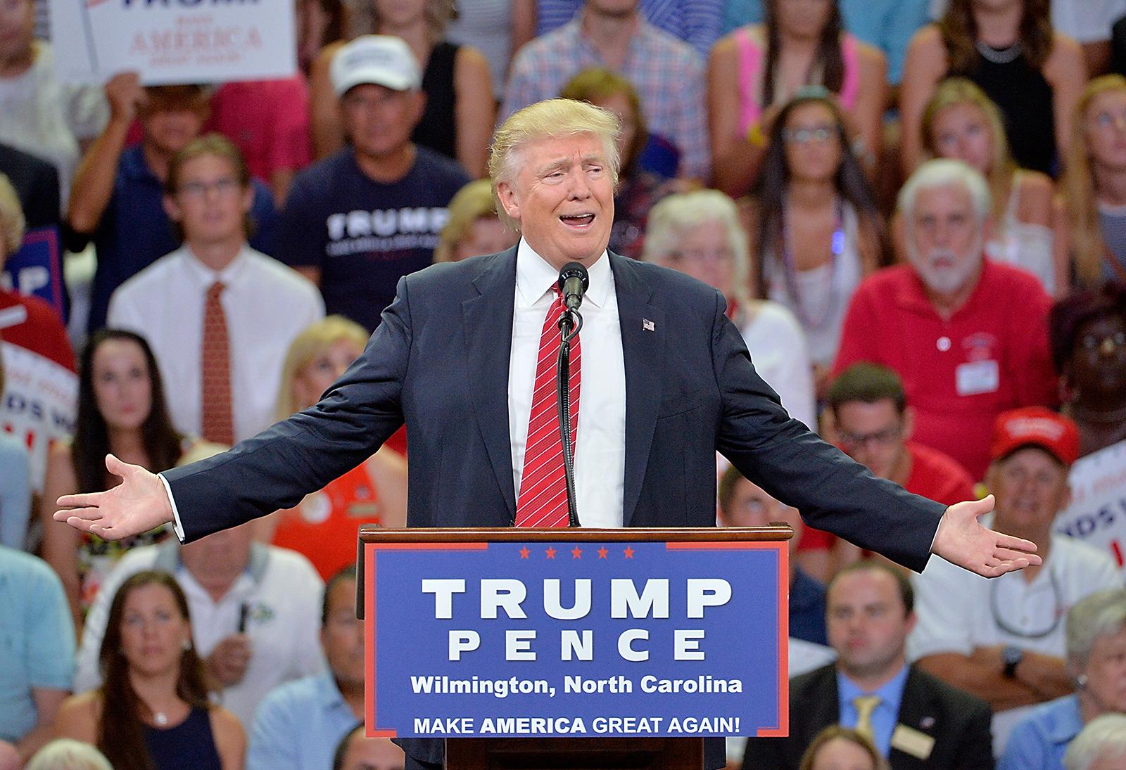 Donald Trump & Donald Drumpf