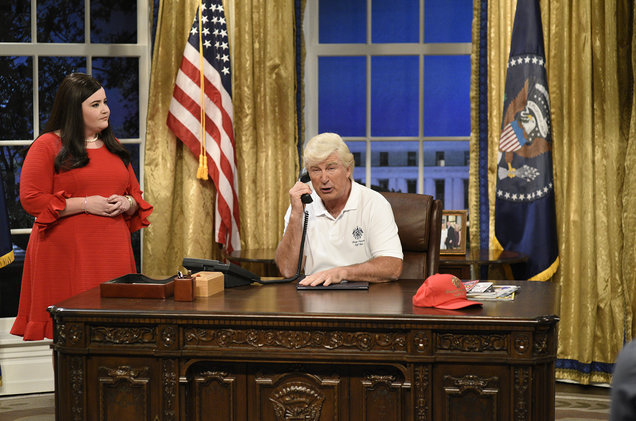 Alec Baldwin Returns as Donald Trump on 'SNL' Season Premiere