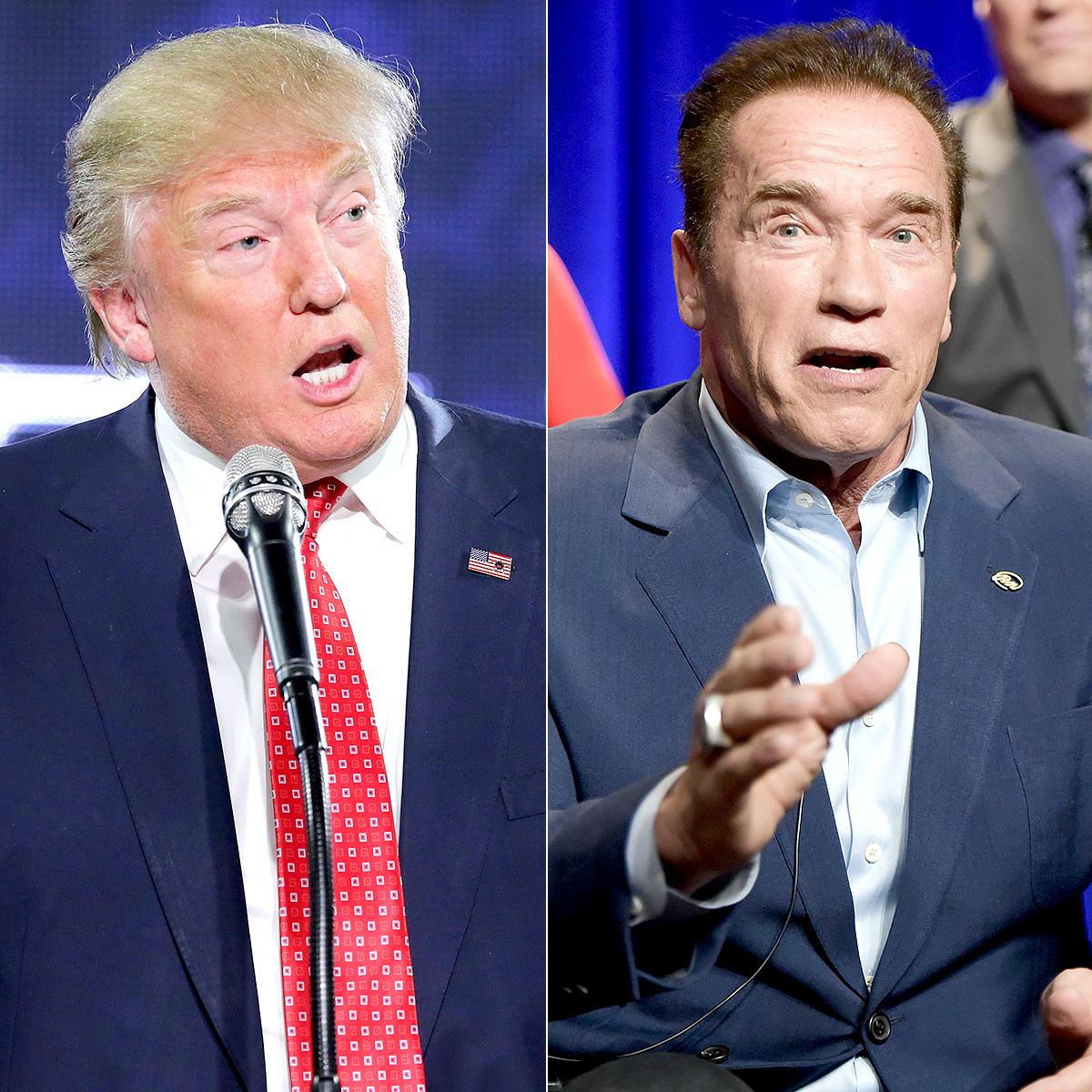 Donald Trump and Arnold Schwarzenegger