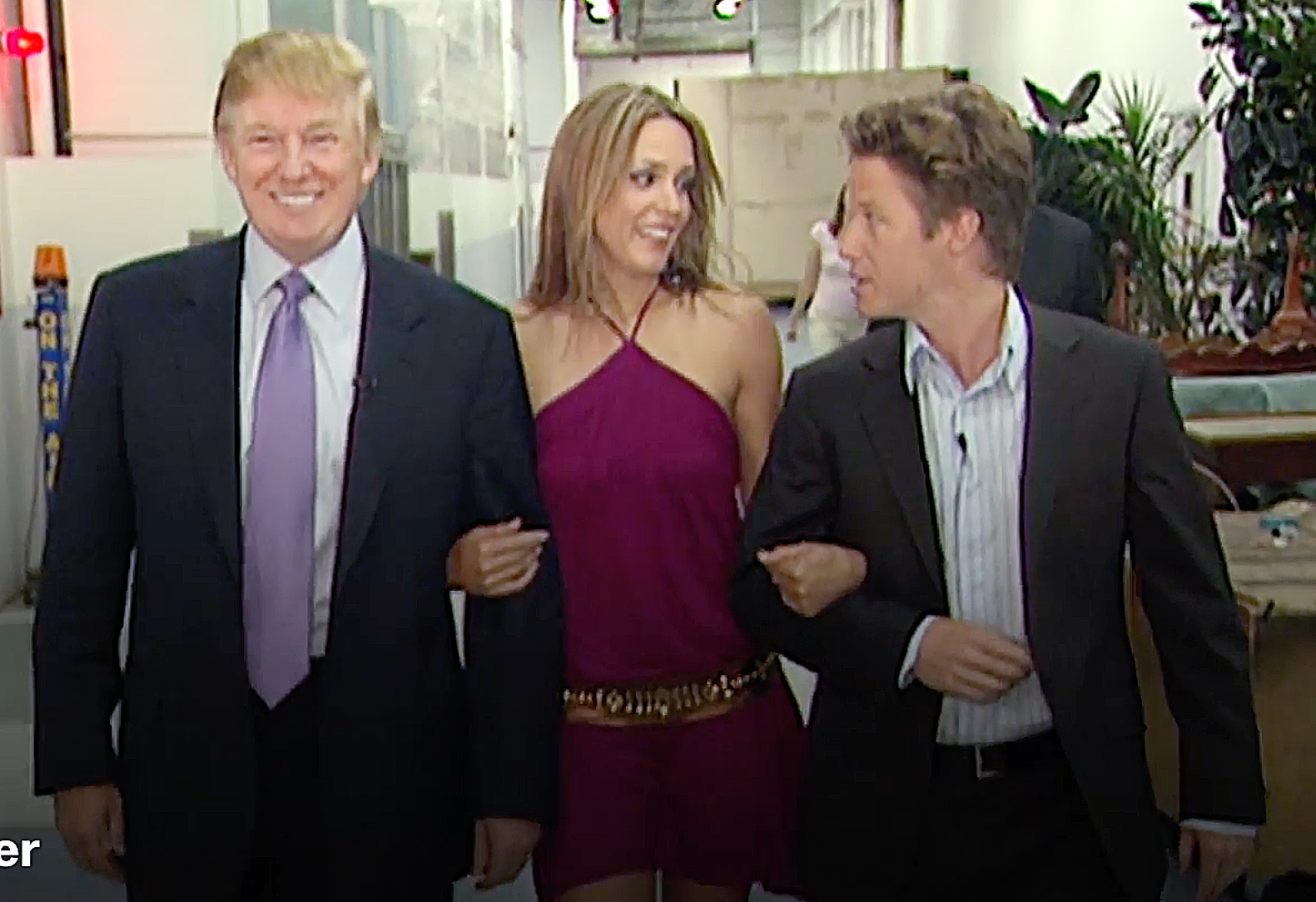 Donald Trump Arianne Zucker Billy Bush
