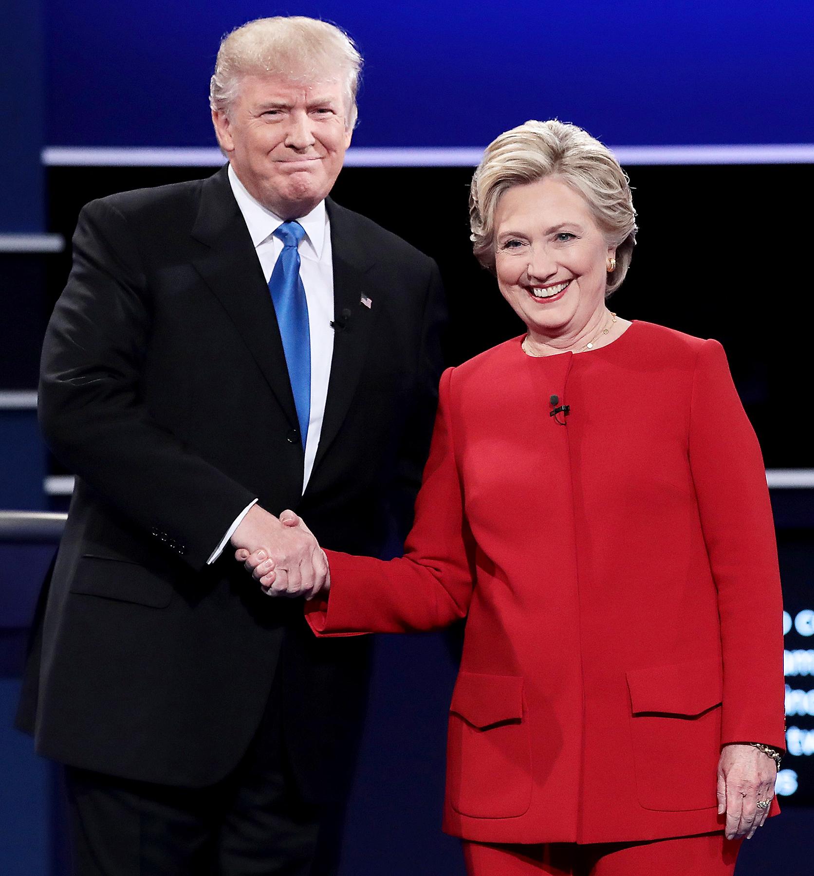 Donald Trump Hillary Clinton