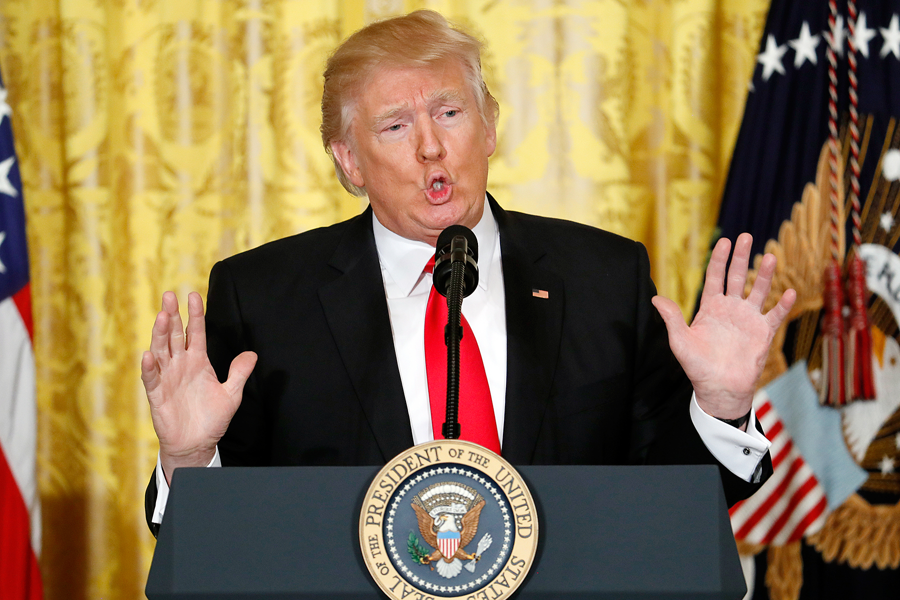 Image result for trump press conference